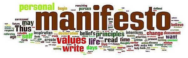 personal manifesto What are the most famous manifestos ever written we list our top ten several will be obvious, some may surprise and one definitely will surprise.